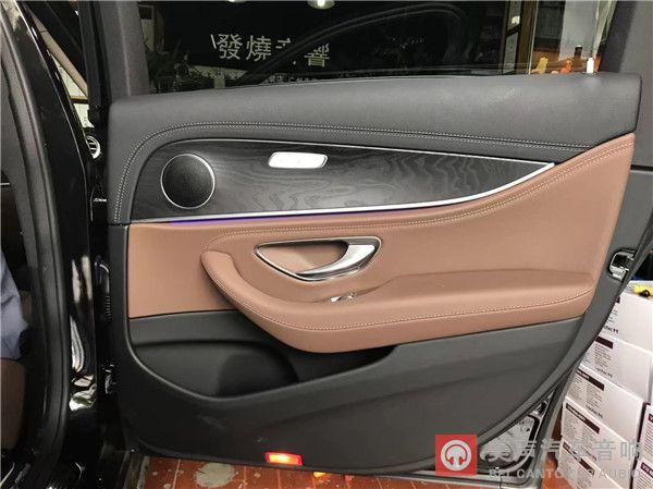 奔驰e300l汽车改装德国艾索三分频喇叭